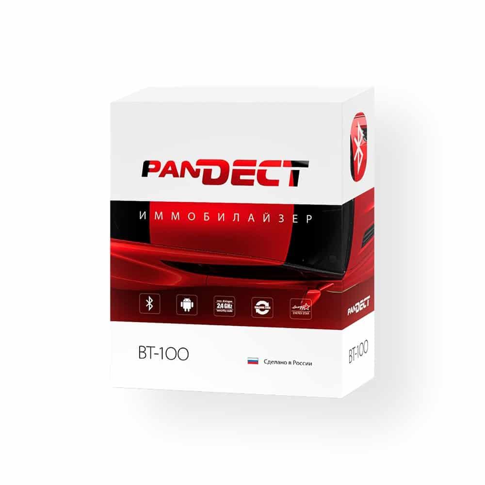 Иммобилайзер PanDECT BT-100, противоугонное устройство, BT 100, бесконтактная радиометка, Bluetooth Smart, мобильное приложение Pandora BT
