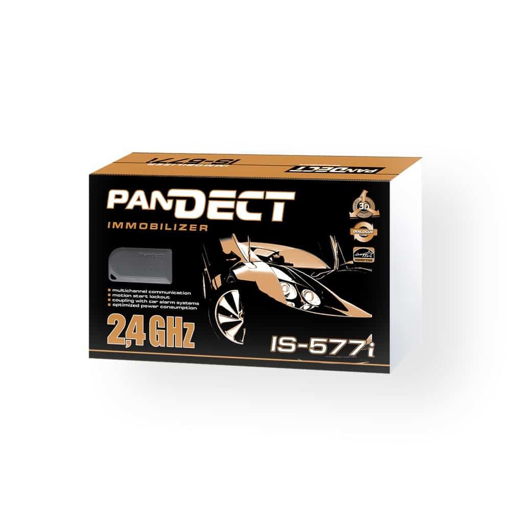 Иммобилайзер PanDECT IS-577i, противоугонное устройство, радиометка, радиореле блокировки, для работы с Pandora DeLuxe 1500i, 2000, DXL и другие