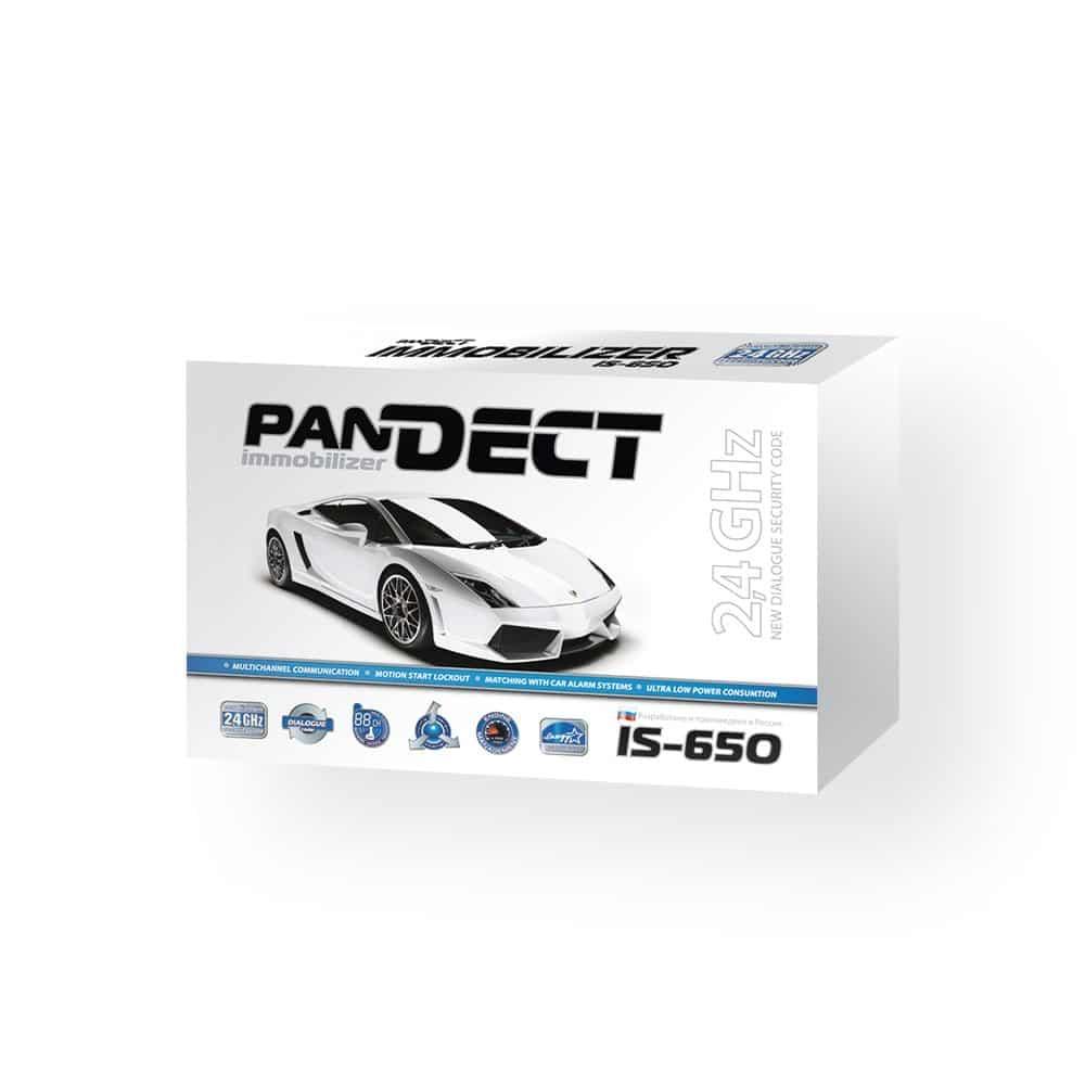 Иммобилайзер Pandect IS-650, противоугонное устройство, 2 радиометки, беспроводное реле блокировки, Anti-HiJack, Hands Free, IS 650