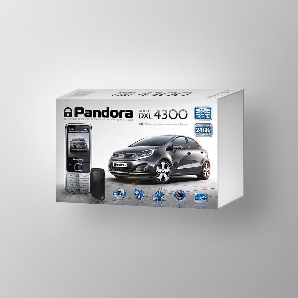 Автосигнализация Pandora DXL 4300
