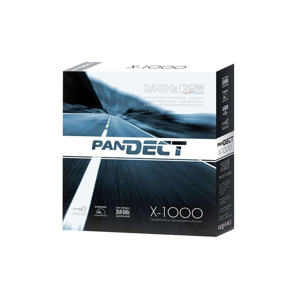 Автосигнализация PanDECT X-1000