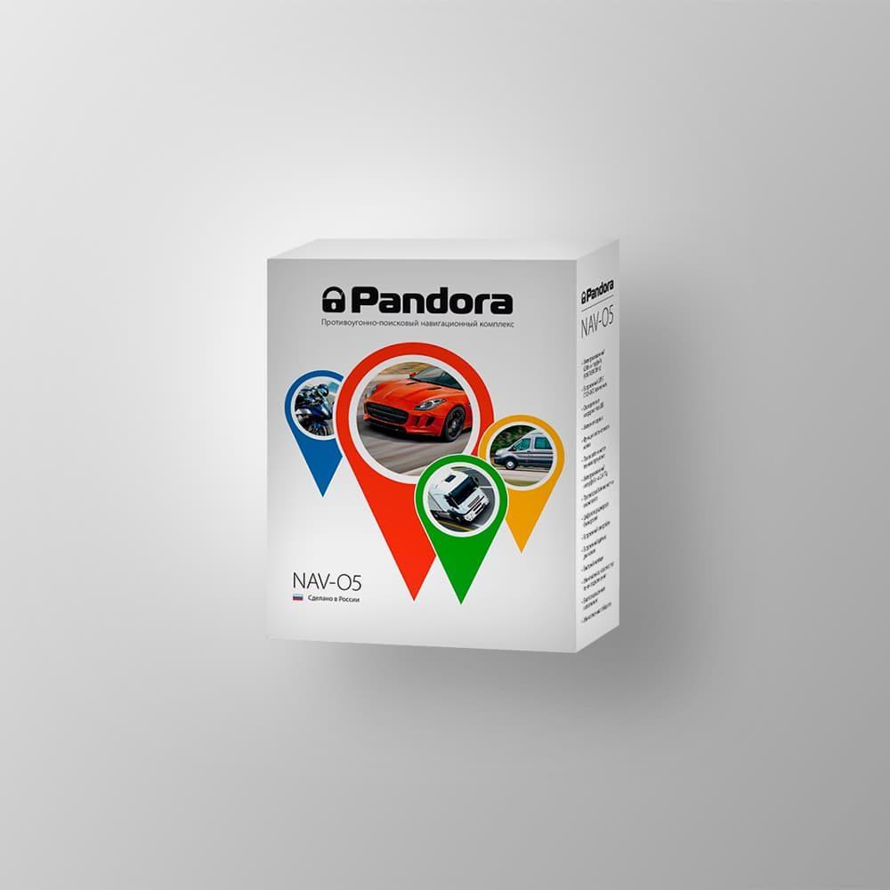 Противоугонно-поисковый навигационный комплекс Pandora NAV-05
