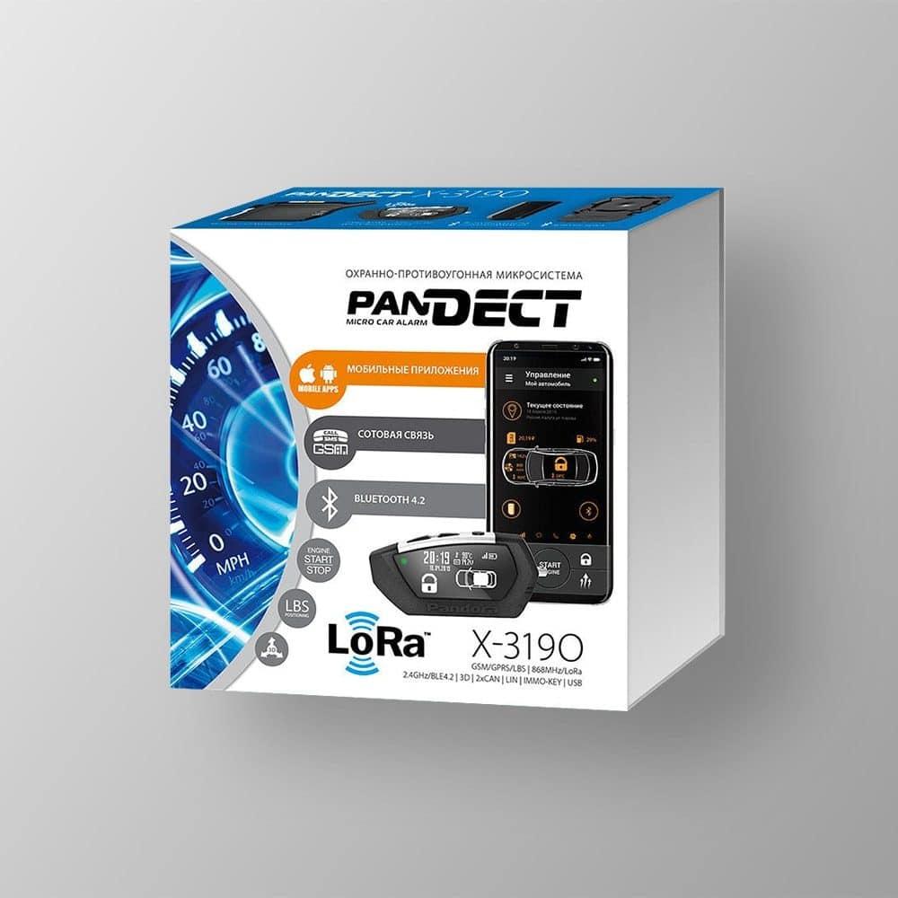 Автосигнализация PanDECT X-3190