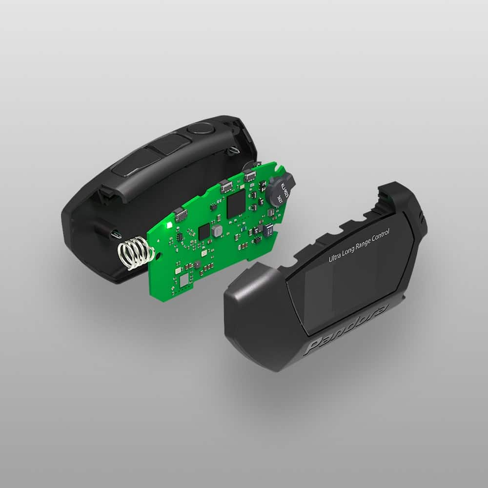 Брелок от сигнализации LCD D043