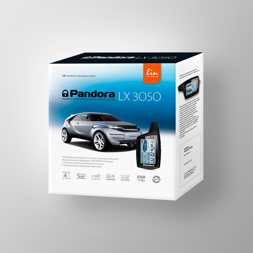 Автосигнализация Pandora LX 3050