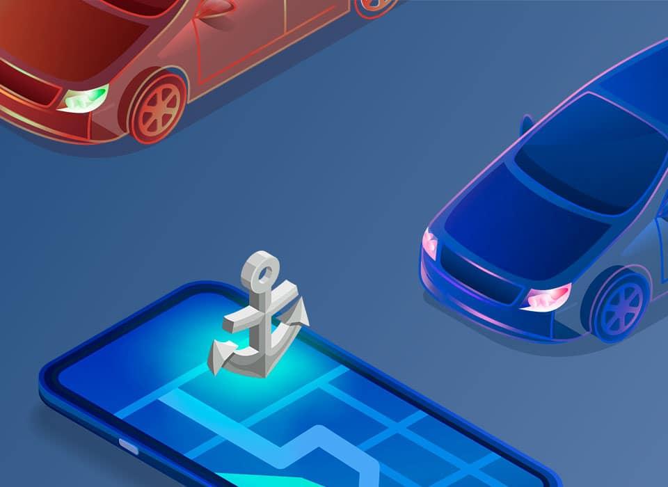 GPS-якорь — новая функция от Pandora