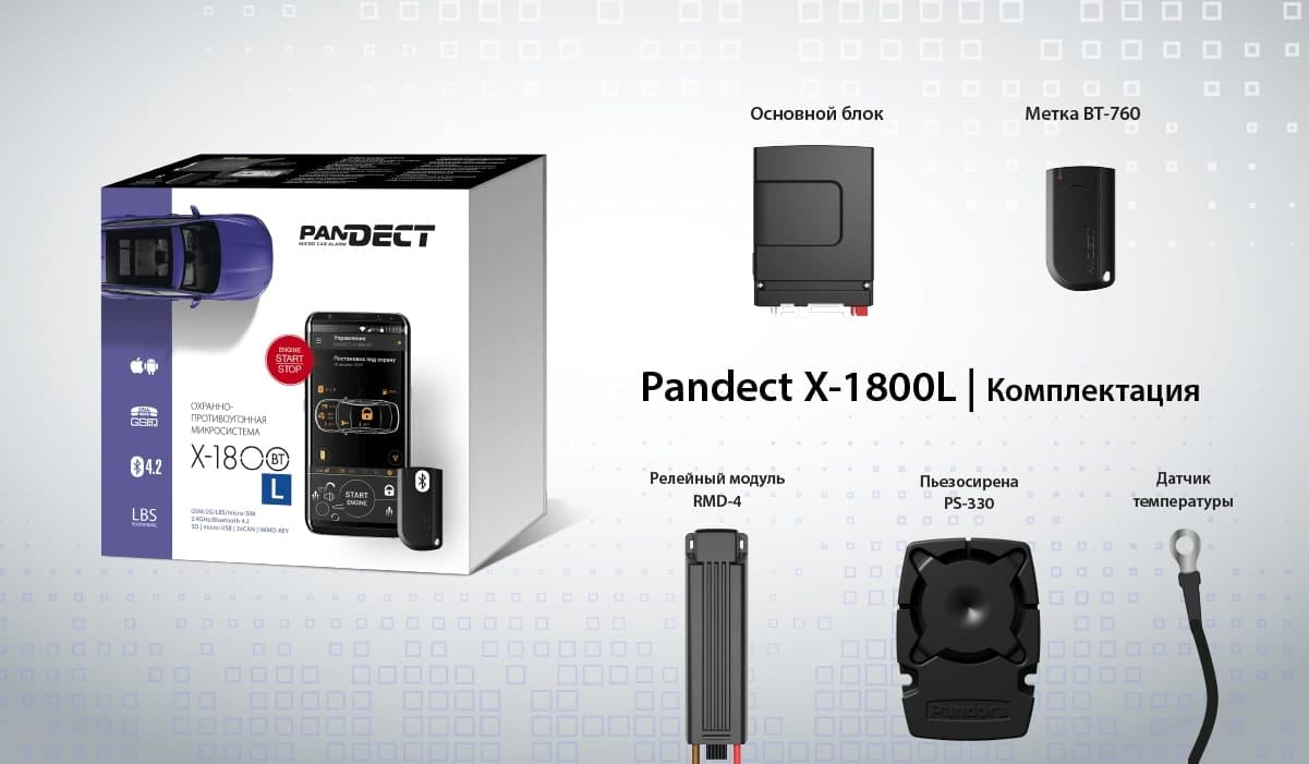 Старт продаж охранной системы PanDECT X-1800L 1