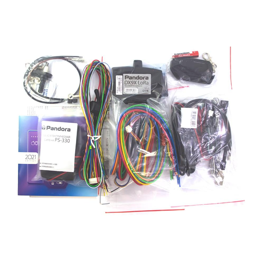 Автосигнализация Pandora DX-9X LoRa, автозапуск, Турботаймер, SLAVE, Bluetooth, D-027, iOS и Android, смартфон, LoRa Hi Speed