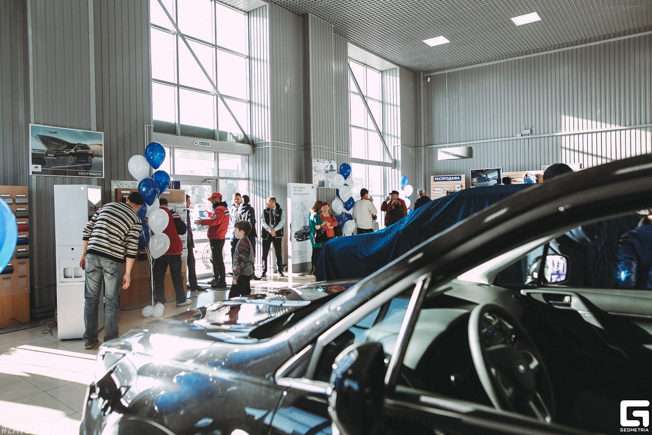 Презентация нового поколения Subaru Forester