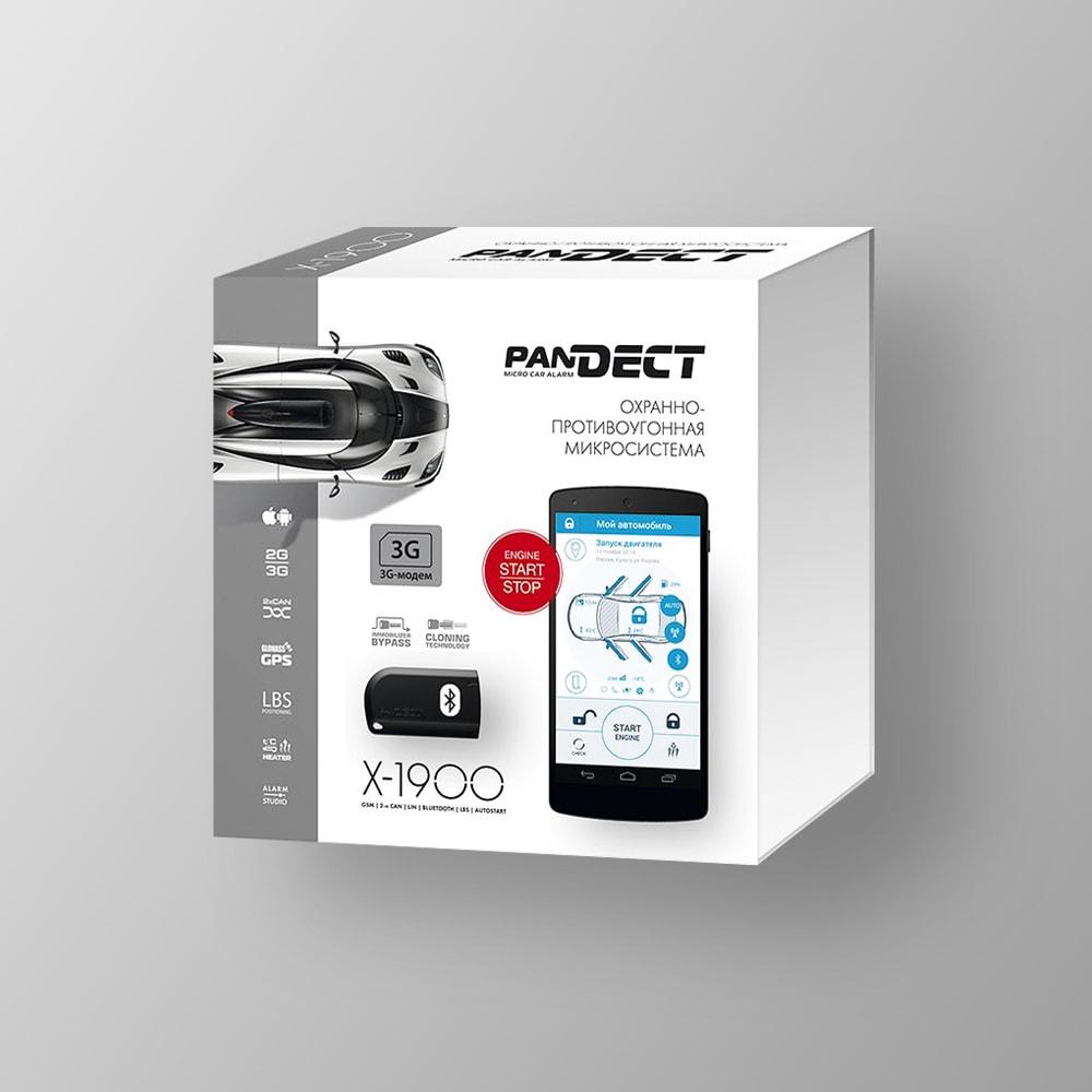 Автосигнализация PanDECT X-1900 3G