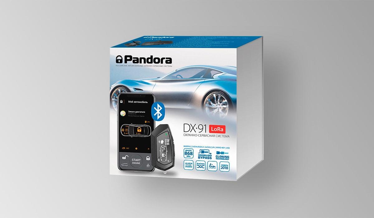 Автосигнализация Pandora DX-91 LoRa