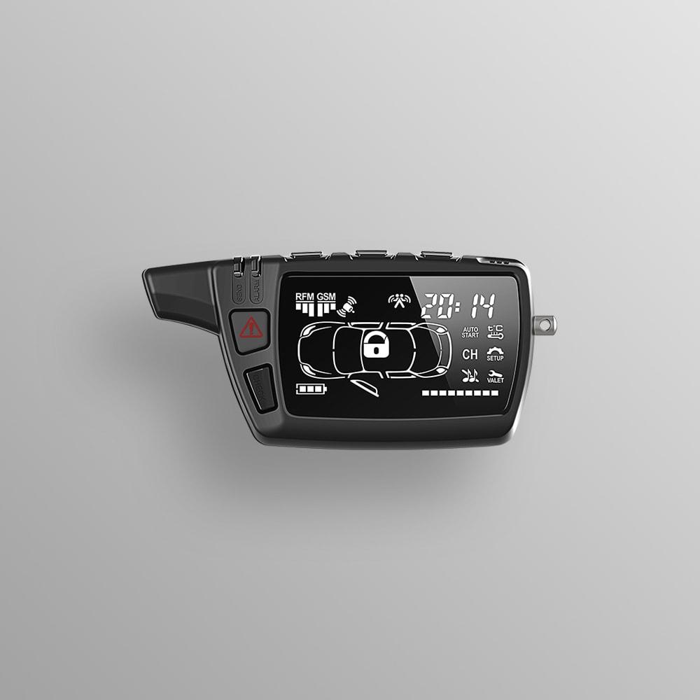 Брелок LCD D468