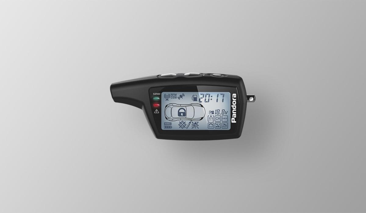 Брелок LCD DXL 078 black