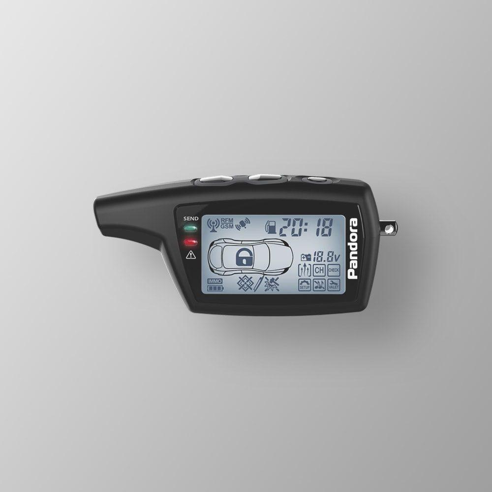Брелок LCD DXL 079 black