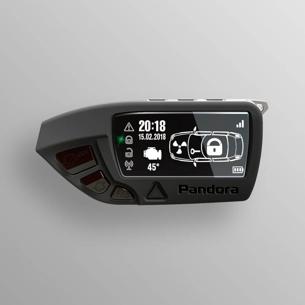 Брелок LCD DXL 670 black