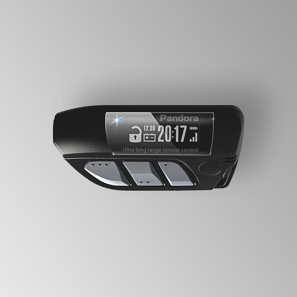 Брелок LCD DXL 800 black