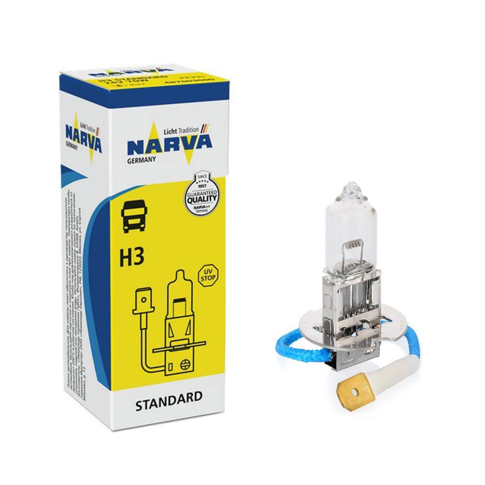 Галогенная лампа Narva H3 24V 70W 48700