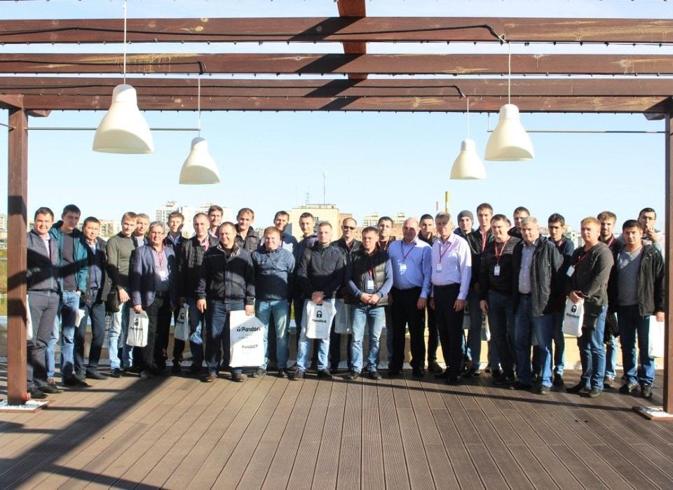 Участники технической конференция Pandora 2018 в Оренбурге