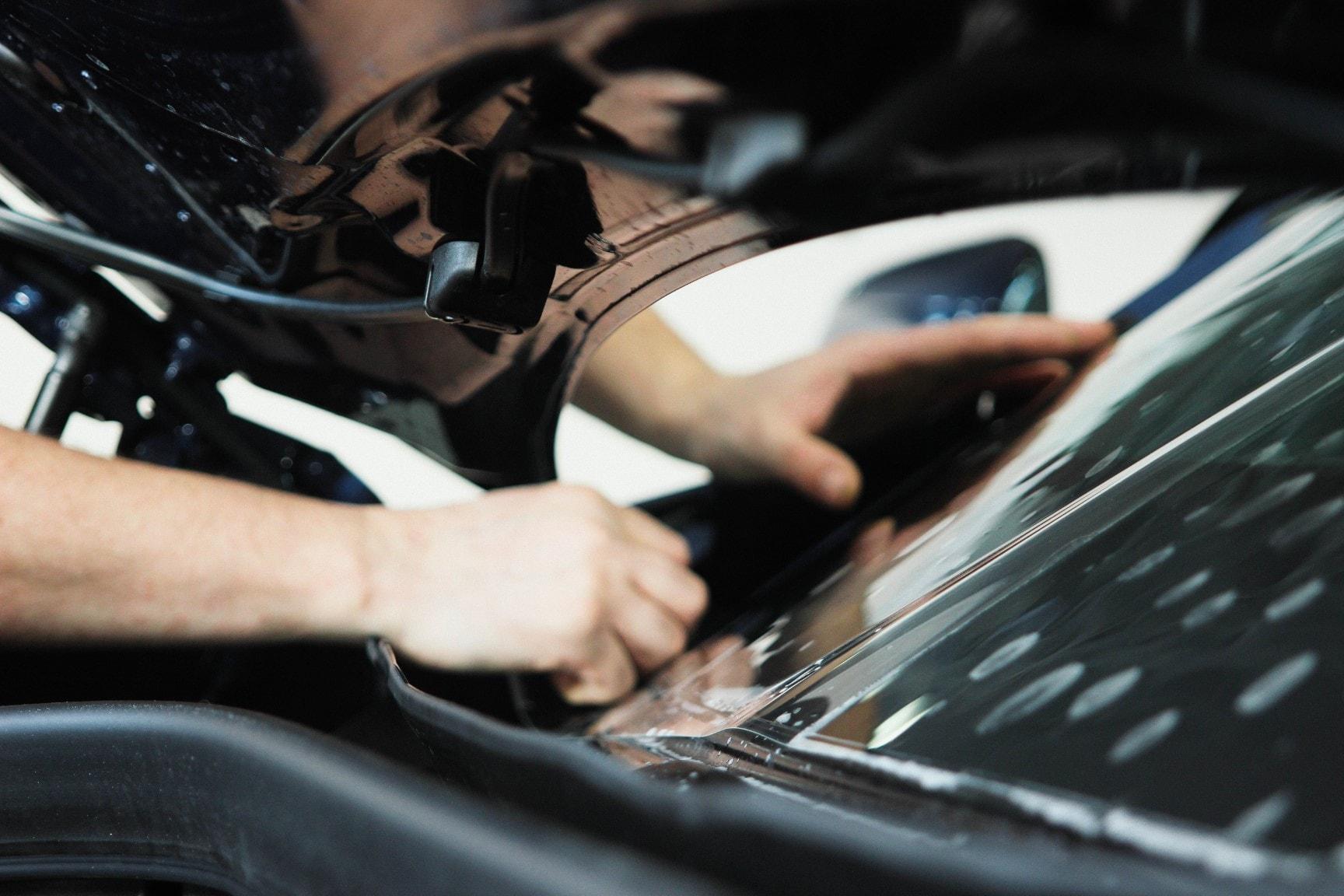 BMW X3 оклеивание плёнкой