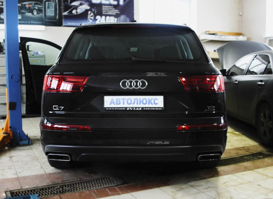 Audi Q7 — комплекс работ