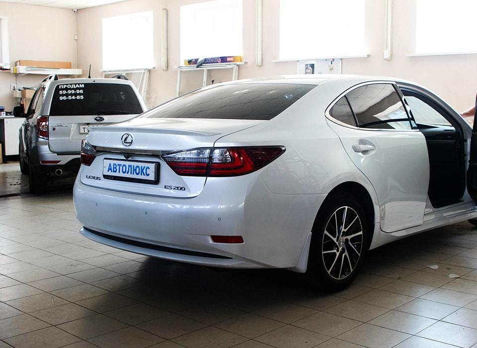 Lexus ES 200 бронирование плёнкой