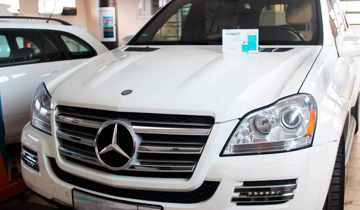 Mercedes-benz GL 550 4matic защита от угона