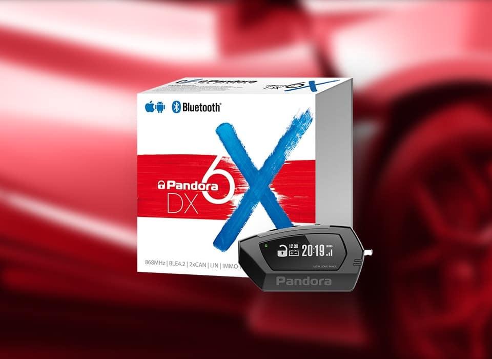 Старт продаж охранной системы Pandora DX-6X