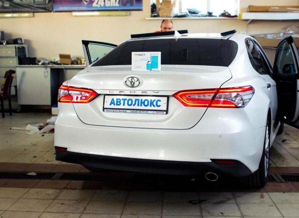 Toyota Camry 2018 — комплекс работ