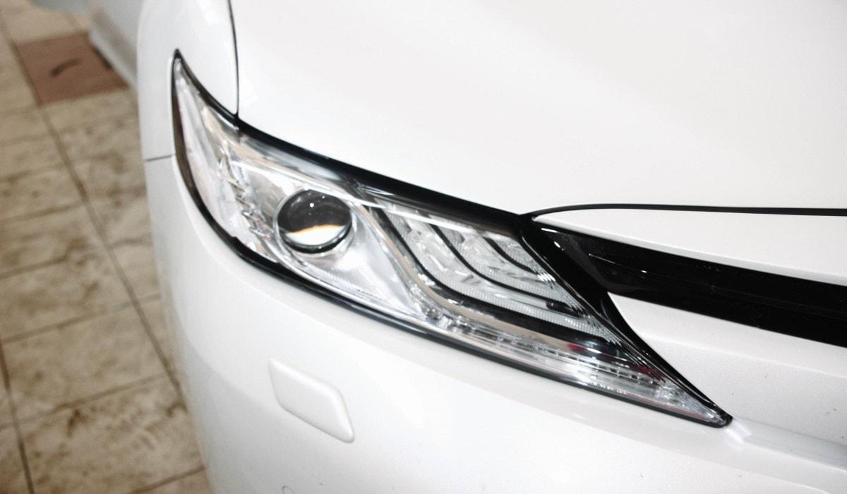 Бронирование плёнкой элементов кузова автомобиля Toyota Camry 2018